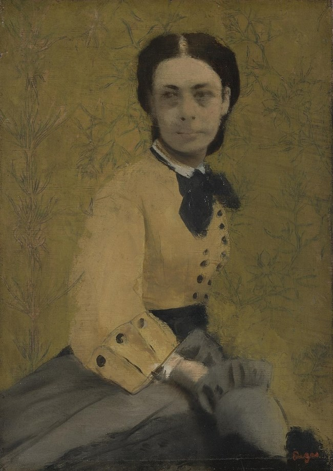 Портретът на принцесата от великия Дега.