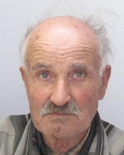 80-годишният Анастас Добрев Панайотов СНИМКА: МВР