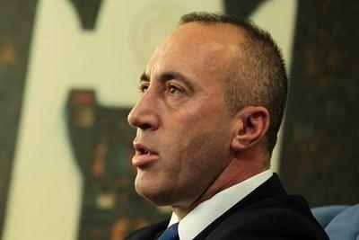 Лидерът на Алианса за бъдещето на Косово (АБК) Рамуш Харадинай СНИМКА: Ройтерс