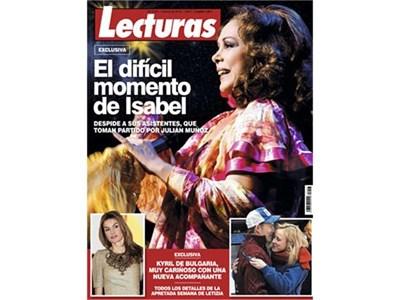 """Сп. """"Лектурас"""" публикува на корицата си долу вдясно снимка на Кирил и тайнствената блондинка. СНИМКА: АРХИВ"""