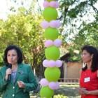 """Министър Танева откри ремонтираната детска градина """"Звездица"""" в Кнежа. Тя е обновена по проект за 1,8 млн. лв. от Програмата за развитие на селските райони."""