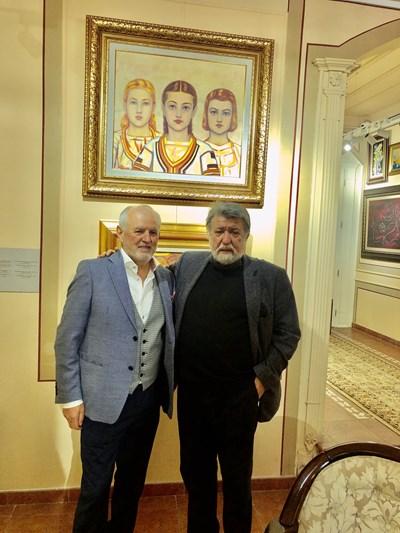 Вежди Рашидов поздрави Димитър Георгиев за вдъхновението, с което е събирал уникалната си колекция.