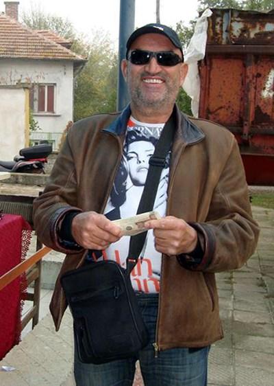 Ценко Чоков като кмет на Галиче. Снимка от архива на автора.