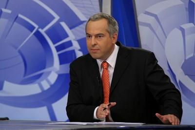 Бойко Василев е сред най-интелигентните водещи на предаването.  СНИМКА: РАДА ПЕТКОВА