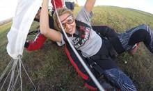 Виктория в полет с 250 км/ч. Пропуснала скок от 3500 метра заради фаталната среща със Северин