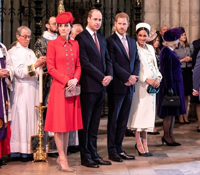 Кейт, Уилям, Хари и Меган  Снимки: Ройтерс