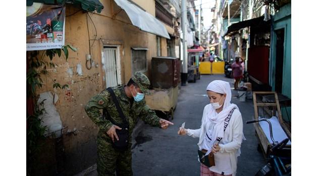 Филипините по време на пандемия