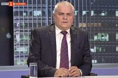 Валентин Радев Кадър: БНТ