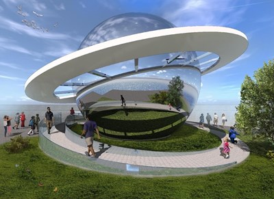Планетариумът до Морска гара ще бъде най-новата емблема на Бургас