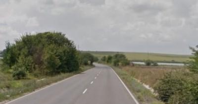 Пътят Бургас - Средец СНИМКА: Google Street View
