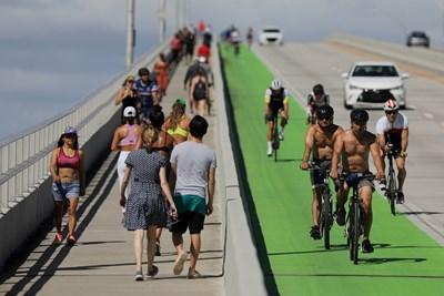 Кадър от Флорида Снимка: Ройтерс