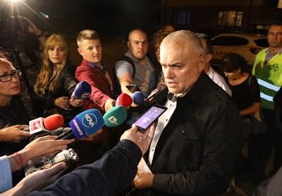 Валентин Радев  Снимка: Йордан Симеонов