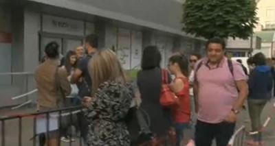 Опашка пред столична лаборатория заради задължителните PCR тестове за Гърция КАДЪР: БНТ