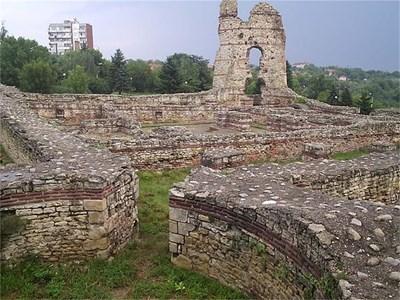 Видин - средновековни останки. Снимка: Интернет