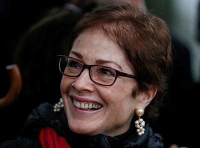 Мари Йованович - бившата посланичка в Киев Снимка: Ройтерс