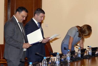 Министрите на ГЕРБ Ивайло Московски и Владислав Горанов са подкрепили патриотите срещу ратифицирането на конвенцията.