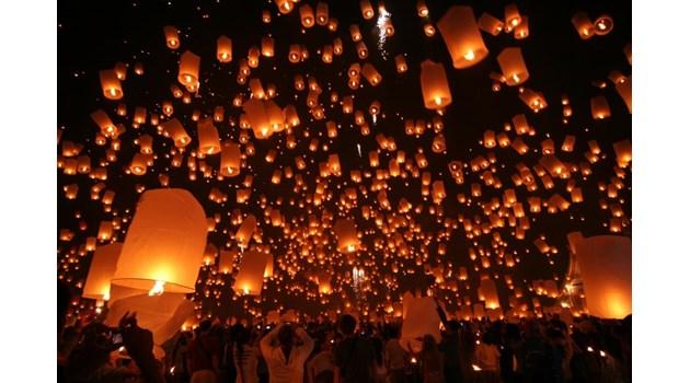 Фестивалът на хартиените фенери