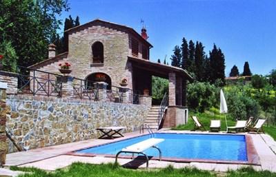 Едно от най-известните и луксозни места в Тоскана е имението La Gigliola. СНИМКА: Авторът