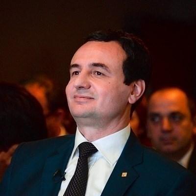 Косовският премиер Албин Курти СНИМКА: Ройтерс