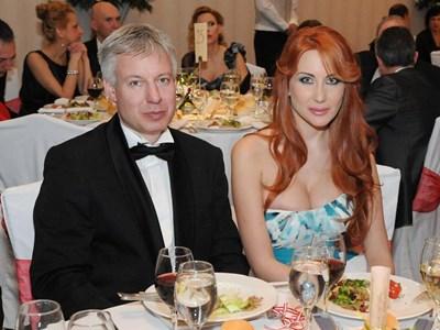 Антония Петрова и приятелят й Александър Бередин  СНИМКА: АРХИВ