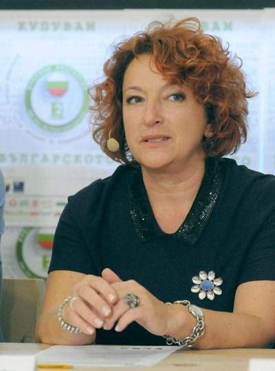 """""""Идеята на кампанията е да покажем, че идва ново поколение шампиони в българския тенис"""", обясни Екатерина Генова. Снимка Архив"""