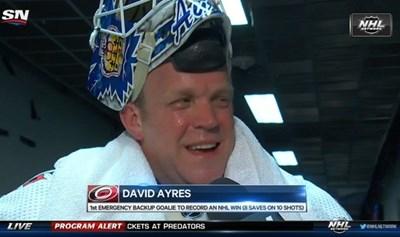 Вратар на 42 г. влезе в историята на НХЛ