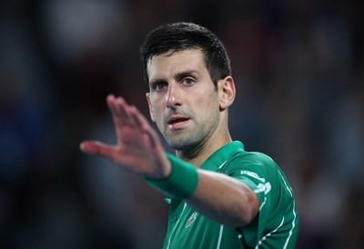 """Новак Джокович ще играе за 37-и път на полуфинал в """"Големият шлем""""."""