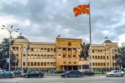 Парламентът в Скопие Снимка: Пиксабей