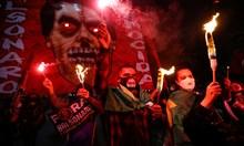 Протести срещу президента Жаир Болсонаро