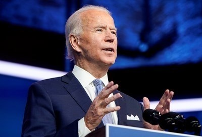 Избраният за президент на САЩ Джо Байдън СНИМКА: Ройтерс