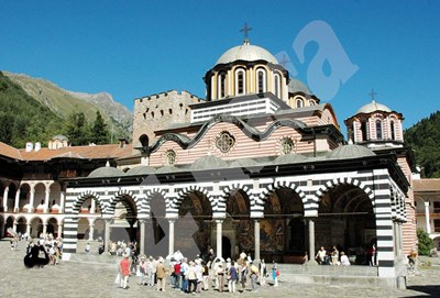 Рилският манастир СНИМКА: 24 часа