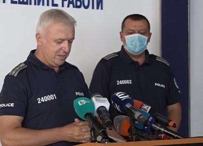 СДВР извънредно: Заразените полицаи са тези, които пазят протестите