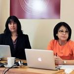 Заместник-омбудсманът Елена Чернева и адвокат Диляна Гитева по време на срещата  СНИМКА: МИНИСТЕРСТВО НА ПРАВОСЪДИЕТО