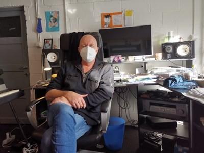 Белгийският музикант Жан-Франсоа Малжан СНИМКИ: Радио Китай