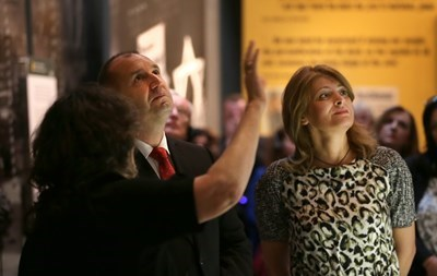 Румен Радев и съпругата му са на тридневно посещение в Израел СНИМКА: прессекретариат на президента