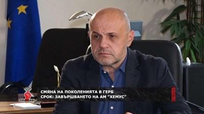 Томислав Дончев. Кадър Канал 3