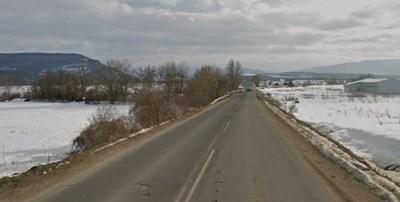 Пътят Севлиево – Драгановци Снимка: Google street view