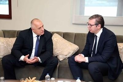 Борисов и Вучич разговаряха през януари Снимка: Фейсбук