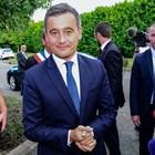 Вътрешният министър на Франция Жералд Дарманен  СНИМКА: Ройтерс