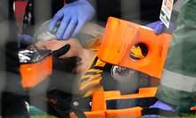 Счупен череп на мач в Англия (Видео)