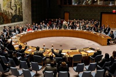 """Общото събрание на ООН гласува с 128 гласа """"За"""", девет """"Против"""" и 35 въздържали се, да осъди решението на американския президент Доналд Тръмп Снимка: Ройтерс"""