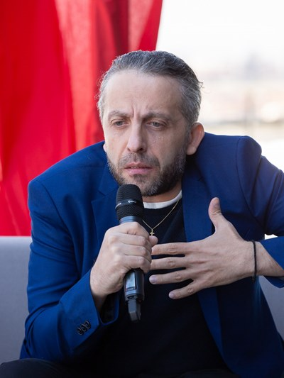 Мариус Куркински СНИМКА: Пресцентър на НДК