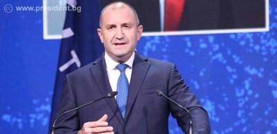 Румен Радев в Естония Снимка: Прессекретариат на президентството