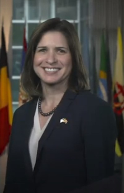 Посланикът на САЩ в Скопие Кейт Мари Бърнс КАДЪР: Youtube/U.S. Embassy in North Macedonia