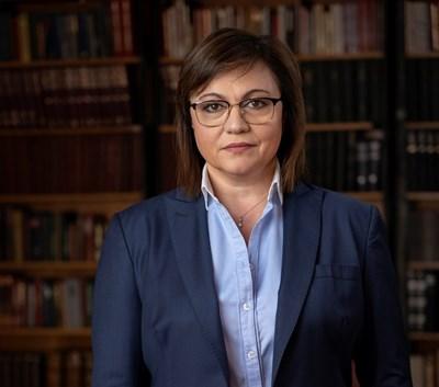 Корнелия Нинова. Снимка Фейсбук