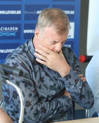 Наско Сираков СНИМКА: Николай Литов
