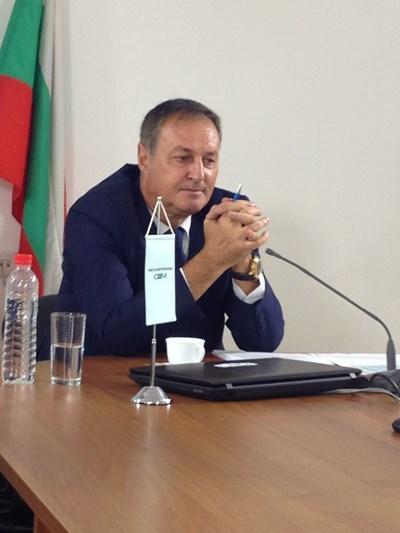 Спортният журналист Сашо Йовков Снимка: Авторката