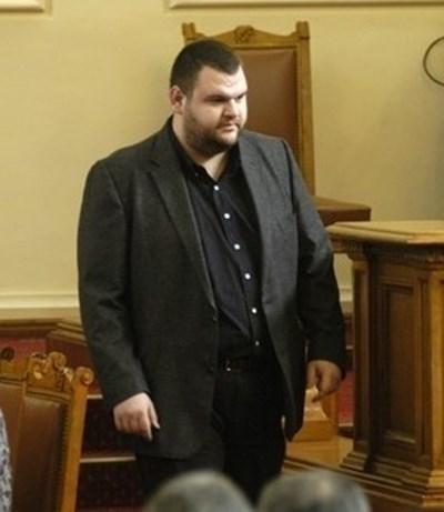 Народният представител Делян Пеевски