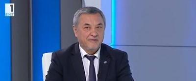 Вицепремиерът Валери Симеонов Кадър: БНТ