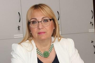 Д-р Галинка Павлова, зам.-председател на БЛС до юни 2018 г.